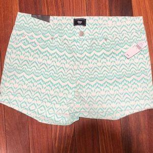 NEW gap pattern shorts